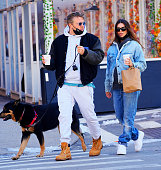 Celebrity Sightings In New York City - February 21, 2021