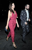 Emily Ratajkowski arrives at Rihanna's Private Met Gala After Party at Up Down on May 4 2015 in New York City