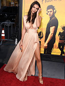 Emily Ratajkowski arrives at the Premiere Of Warner Bros Pictures' 'We Are Your Friends' at TCL Chinese Theatre on August 20 2015 in Hollywood...