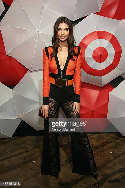 Emily Ratajkowski attends TargetStyle in Vogue at Cedar Lake on September 9 2015 in New York City