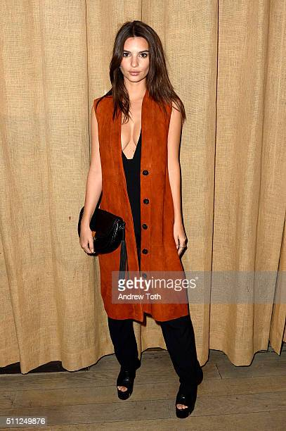 Emily Ratajkowski celebrates fashion week with a showcase for Studio Bryce Thompson at Suzer Groups US Business Partners' Hotel The NoMo Soho...