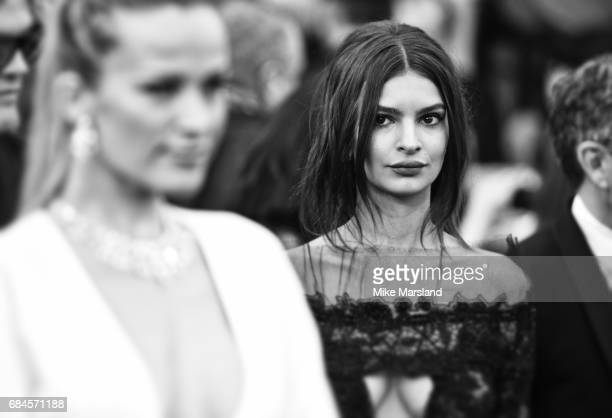 Emily Ratajkowski during the 70th annual Cannes Film Festival at on May 18 2017 in Cannes France