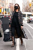 Celebrity Sightings In New York City - January 14, 2021