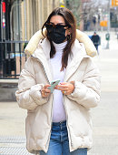 Celebrity Sightings In New York City - January 13, 2021