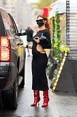 Celebrity Sightings In New York City - October 26, 2020