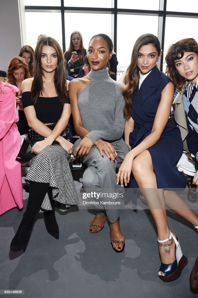 Michael Kors Collection Fall 2017 Runway Show - Front Row