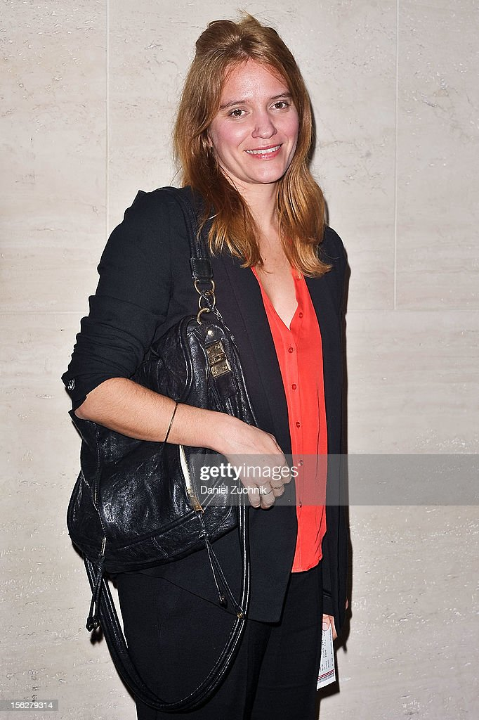 Emily Rebholz attends the 'Vanya and Sonia and Masha and Spike,' press night at Mitzi E. Newhouse Theater on November 12, 2012 in New York City.