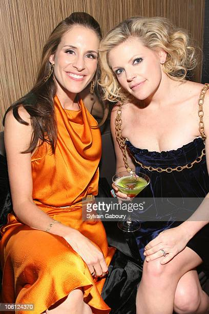 Emily Robison and Natalie Maines of Dixie Chicks during The Weinstein Company Premiere of 'Shut Up Sing' After Party at Ultra at 37 West 26th Street...