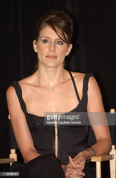 Emily Robison during Dixie Chicks Join Forces with Rock the Vote at Casa Del Mar Hotel in Santa Monica California United States