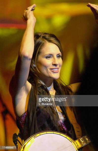 Emily Robison during Vote For Change Tour Cleveland Ohio October 2 2004 in Cleveland Ohio United States