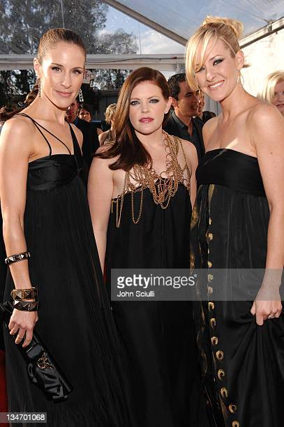 Emily Robison Natalie Maines and Martie Maguire of the Dixie Chicks nominees Best Country Performance By A Duo Or Group With Vocal Best Country Album...