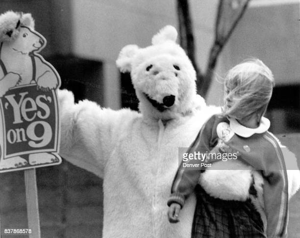 Emily Roddy age 6 named the the Polar bear in the contest the bears name is ***** Popsicle and when he heard it he picked up Emily Credit The Denver...
