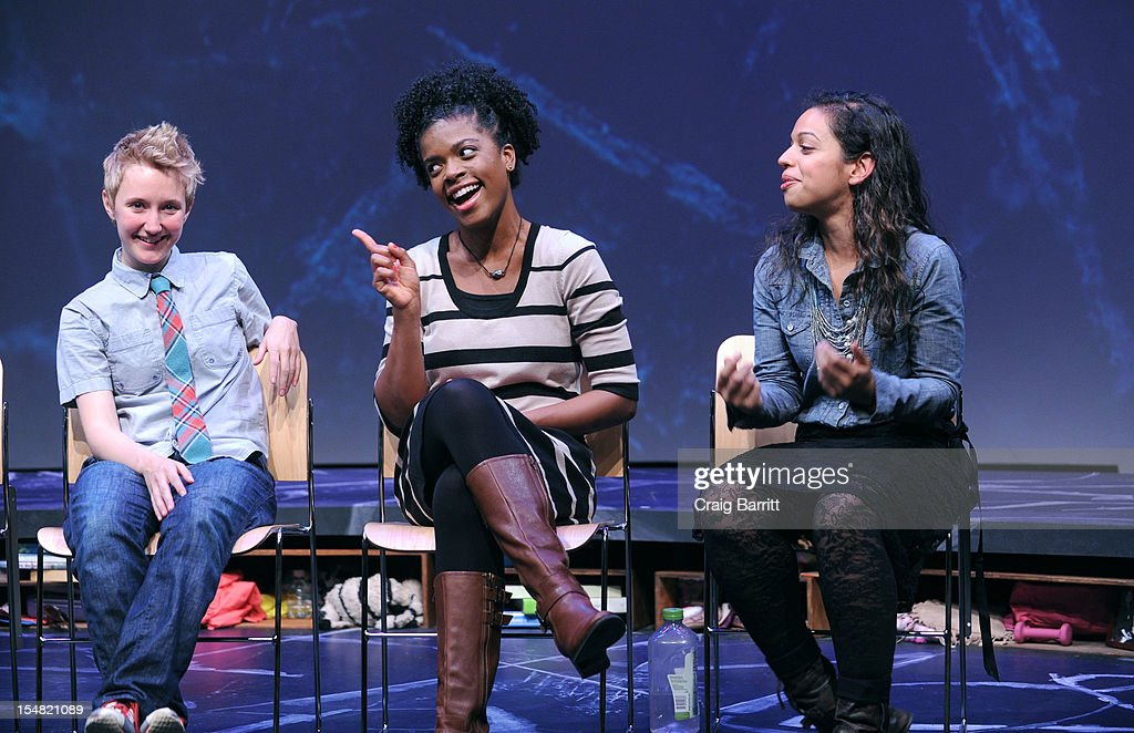 Emily S. Grosland , Ashley Bryant and Sade Namei attend the 'Emotional Creatures' Talkback Series at The Pershing Square Signature Center on October 26, 2012 in New York City.