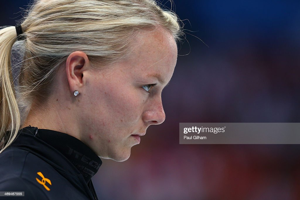 <a gi-track='captionPersonalityLinkClicked' href=/galleries/search?phrase=Emily+Scott+-+Speed+Skater&family=editorial&specificpeople=15291931 ng-click='$event.stopPropagation()'>Emily Scott</a> of the United States looks on during the Ladies' 1500 m Final Short Track Speed Skating on day 8 of the Sochi 2014 Winter Olympics at the Iceberg Skating Palace on February 15, 2014 in Sochi, Russia.