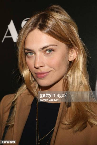 Emily Senko attends A24 and DirecTV with The Cinema Society Host a Screening of 'The Blackcoat's Daughter' on March 22 2017 in New York City