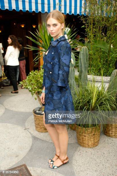Emily Senko attends LOUIS VUITTON 2011 Cruise Collection Launch at North Cabana on June 10 2010 in New York City
