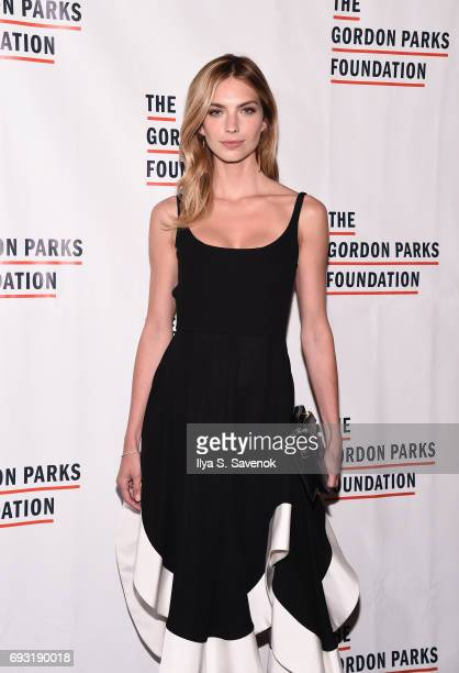Emily Senko attends the 2017 Gordon Parks Foundation Awards Gala at Cipriani 42nd Street on June 6 2017 in New York City