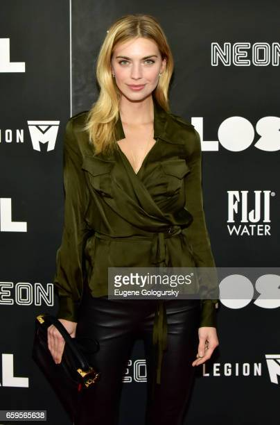 Emily Senko attends The Premiere of 'Colossal' CoHosted by FIJI Water at AMC Lincoln Square Theater on March 28 2017 in New York City