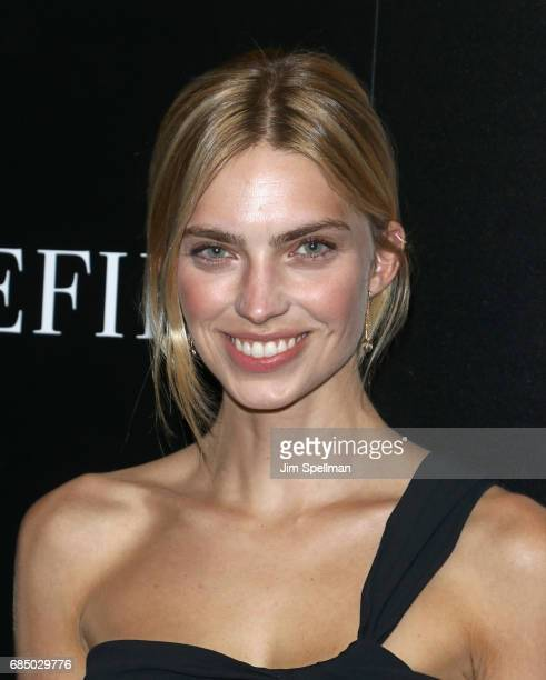 Emily Senko attends the screening of IFC Films' 'Wakefield' hosted by The Cinema Society at Landmark Sunshine Cinema on May 18 2017 in New York City
