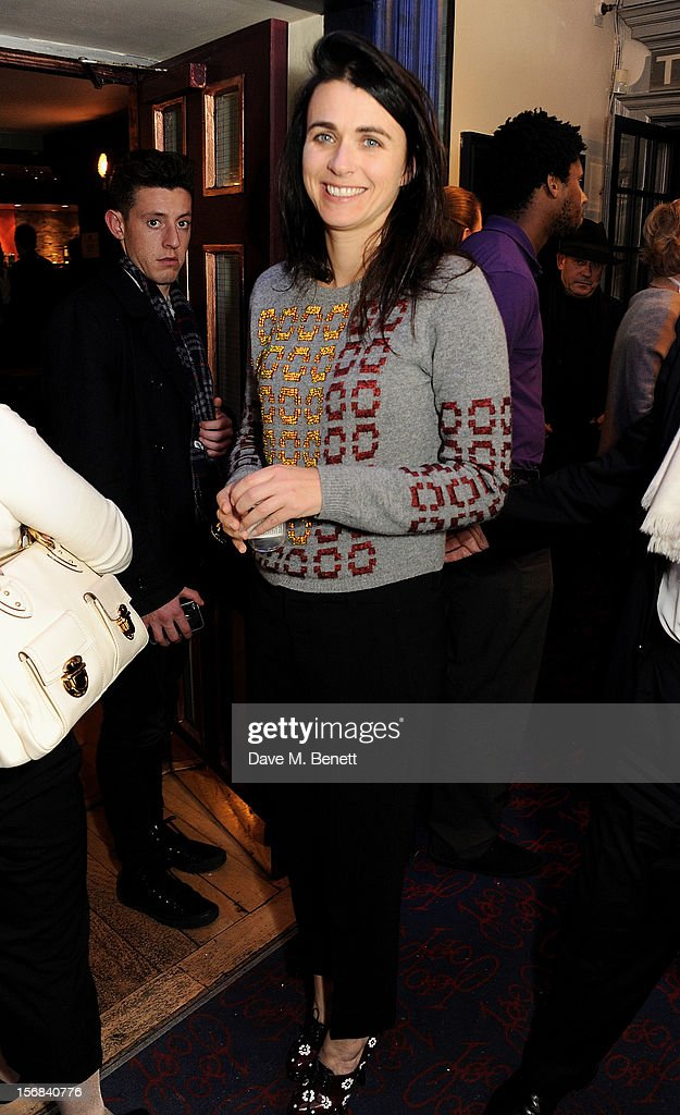 Emily Sheffield attends Tricycle Theatre's 'Red Velvet: The Director's Party' on November 22, 2012 in London, England.