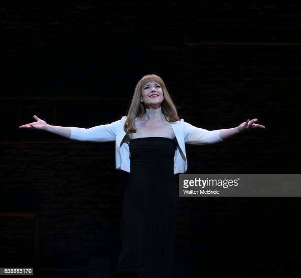 Emily Skinner during the Broadway Opening Night performance Curtain Call for 'Prince of Broadway' at the Samuel J Friedman Theatre on August 24 2017...