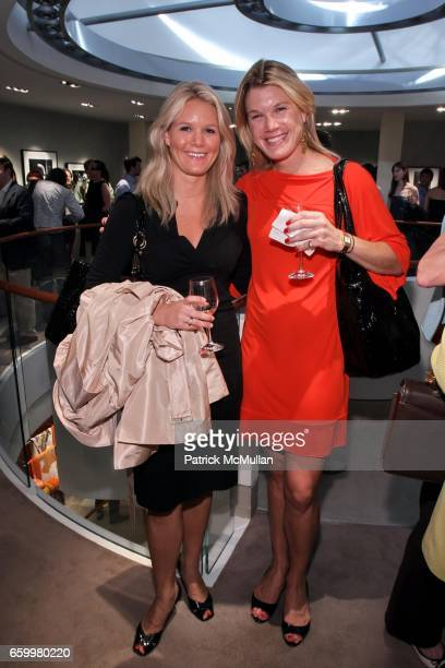 Emily Starkey and Jacqueline Stahl attend 'GORDON PARKS Portraits' Exhibit Preview hosted by the Gordon Parks Foundation and Hermès at The Gallery at...