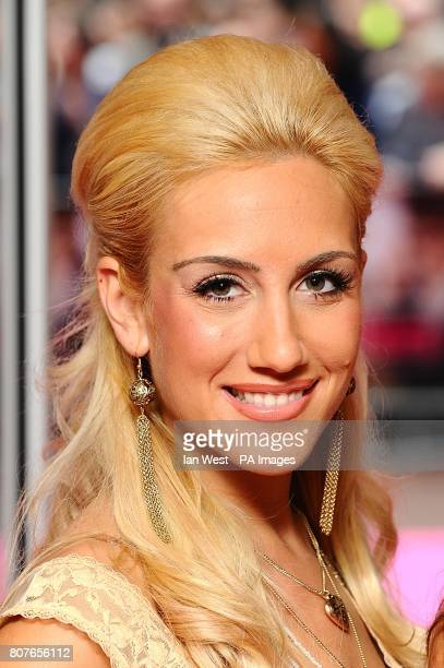 Emily Themis of Candy Rock arriving for the UK Premiere of Killers at the Odeon West End Leicester Square London