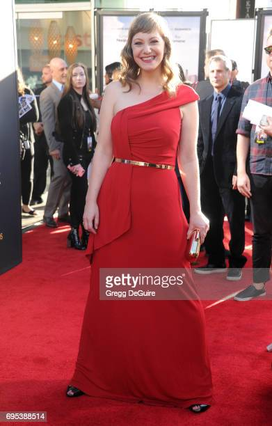 Emily V Gordon arrives at the premiere of Amazon Studios And Lionsgate's 'The Big Sick' at ArcLight Hollywood on June 12 2017 in Hollywood California