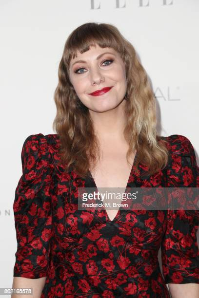 Emily V Gordon attends ELLE's 24th Annual Women in Hollywood Celebration at Four Seasons Hotel Los Angeles at Beverly Hills on October 16 2017 in Los...
