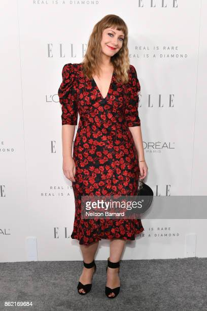Emily V Gordon attends ELLE's 24th Annual Women in Hollywood Celebration presented by L'Oreal Paris Real Is Rare Real Is A Diamond and CALVIN KLEIN...