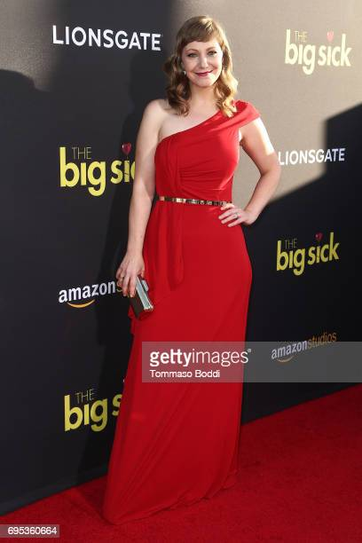 Emily V Gordon attends the Premiere Of Amazon Studios And Lionsgate's 'The Big Sick' at ArcLight Hollywood on June 12 2017 in Hollywood California