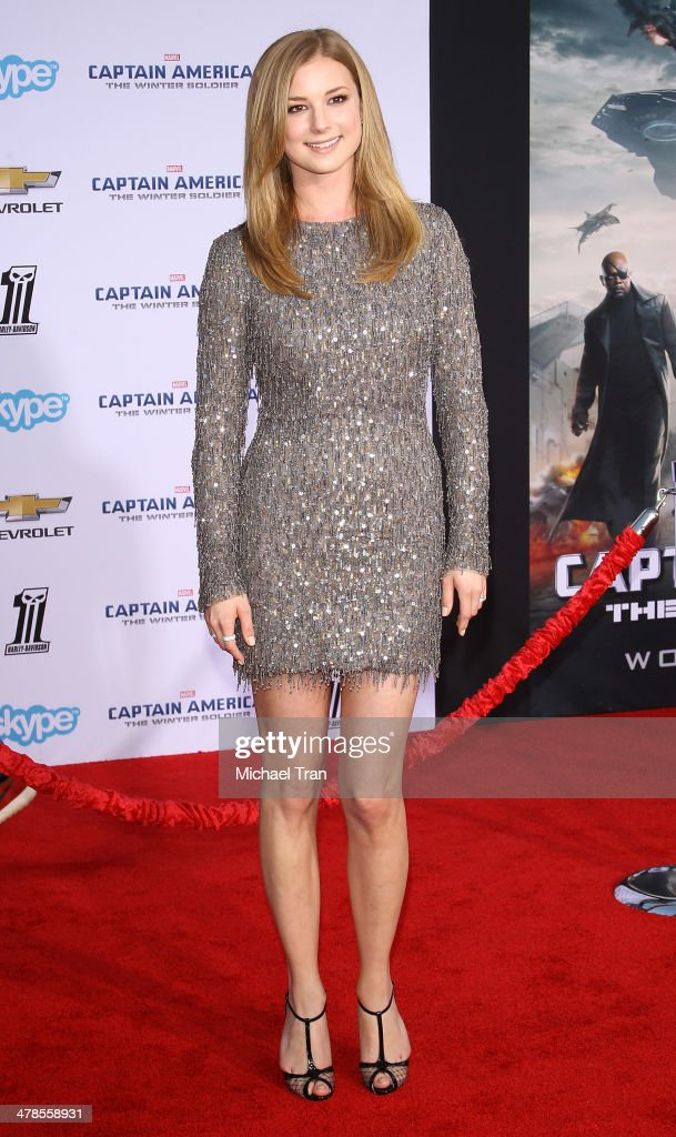 <a gi-track='captionPersonalityLinkClicked' href=/galleries/search?phrase=Emily+VanCamp&family=editorial&specificpeople=574784 ng-click='$event.stopPropagation()'>Emily VanCamp</a> arrives at the Los Angeles premiere of 'Captain America: The Winter Soldier' held at the El Capitan Theatre on March 13, 2014 in Hollywood, California.