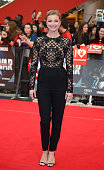Emily Vancamp arrives for UK film premiere 'Captain America Civil War' at Vue Westfield on April 26 2016 in London England