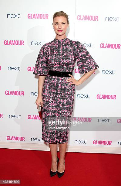 Emily VanCamp attends the Glamour Women of the Year Awards at Berkeley Square Gardens on June 3 2014 in London England