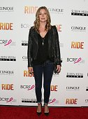Emily VanCamp attends the 'Ride' Los Angeles premiere on April 28 2015 in Hollywood California