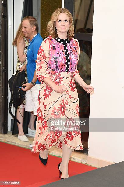 Emily Watson attends the 'Everest' photocall during the 72nd Venice Film Festival on September 2 2015 in Venice Italy