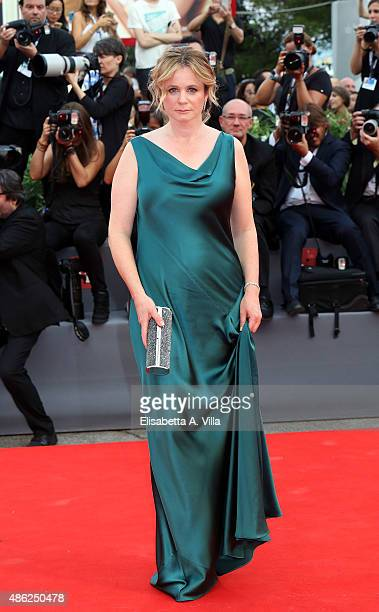 Emily Watson attends the opening ceremony and premiere of 'Everest' during the 72nd Venice Film Festival on September 2 2015 in Venice Italy