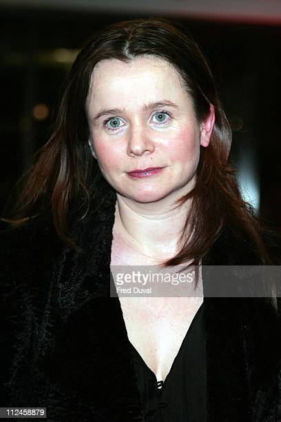 Emily Watson during 12th London Australian Film Festival launch with gala screening of 'The Proposition' at The Barbican Centre in London United...