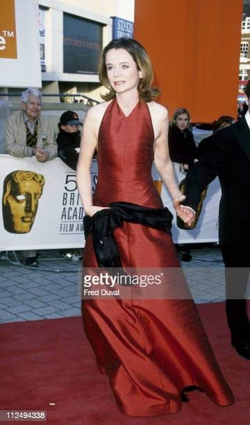 Emily Watson during 1999 BAFTA Film Awards at Business Design Centre Islington in London Great Britain