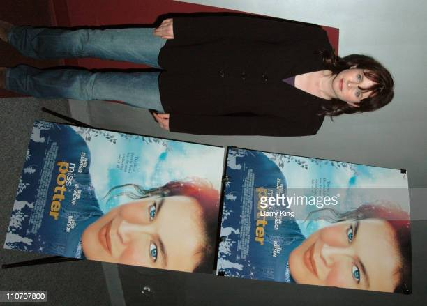 Emily Watson during American Cinematheque Screening of 'Miss Potter' and QA with Emily Watson and Director Chris Noonan at Aero Theatre in Santa...