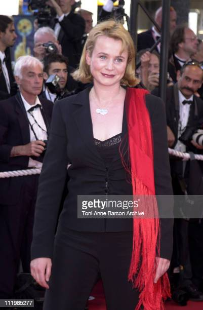 Emily Watson during Cannes 2002 Palmares Awards Ceremony Arrivals at Palais des Festivals in Cannes France