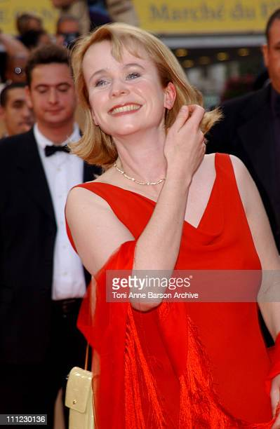 Emily Watson during Cannes 2002 'PunchDrunk Love' Premiere in Cannes France