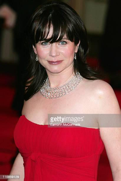 Emily Watson during 'Miss Potter' London Premiere Red Carpet Arrivals at Odeon Leicester Square in London United Kingdom