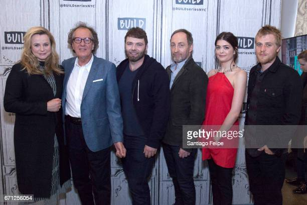 Emily Watson Geoffrey Rush Seth Gabel Michael McElhatton Samantha Colley and Johnny Flynn attend Build Series Presents at Build Studio on April 21...