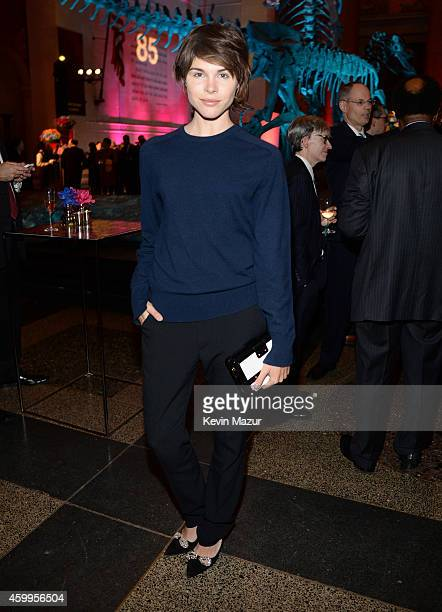 Emily Weiss attends Bloomberg Businessweek's 85th Anniversary Celebration at American Museum of Natural History on December 4 2014 in New York City