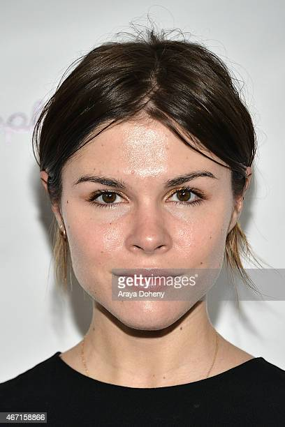 Emily Weiss attends the Create Cultivate's Speaker Celebration at The Line Hotel on March 20 2015 in Los Angeles California