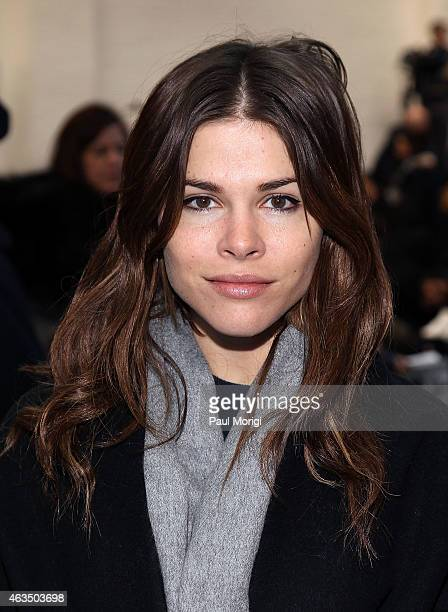 Emily Weiss attends the Derek Lam Fashion Show during MercedesBenz Fashion Week Fall 2015 at Pace Gallery on February 15 2015 in New York City