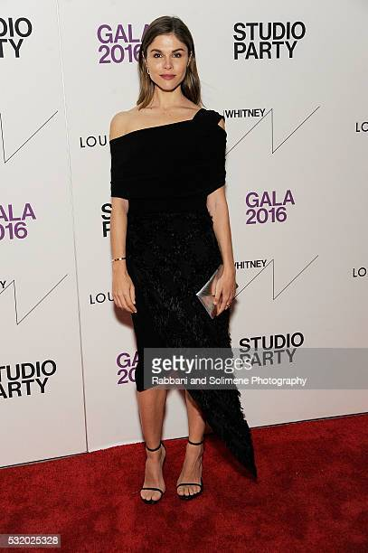 Emily Weiss attends The Whitney Studio Party at The Whitney Museum of American Art on May 17 2016 in New
