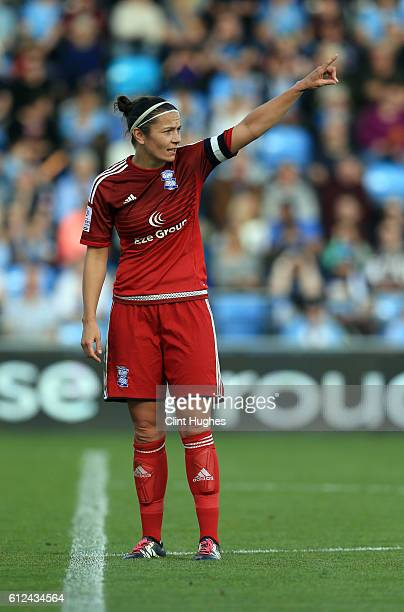 Emily Westwood of Birmingham City Ladies in action during the Continental Cup Final between Manchester City Women and Birmingham City Ladies at The...