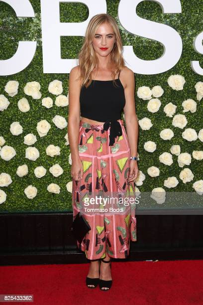 Emily Wickersham attends the 2017 Summer TCA Tour CBS Television Studios' Summer Soiree at CBS Studios Radford on August 1 2017 in Studio City...